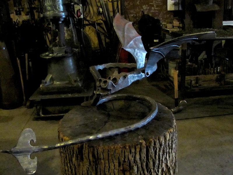 contemporary artist blacksmith mark puigmarti