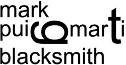 mark puigmarti ~  blacksmith Logo